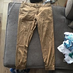 Tan Joggers from Zumies